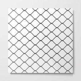 Wired Pattern Metal Print