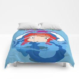 gake no ue no ponyo Comforters