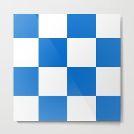 Flag of Dalfsen Metal Print