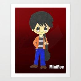 MiniRoc Art Print