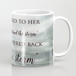 Fate Whispered to Her Coffee Mug