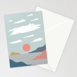 Cat Landscape 23 Stationery Cards
