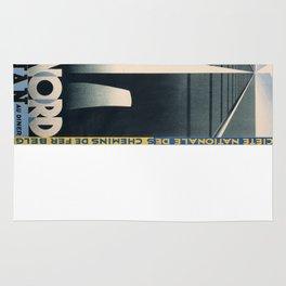 Vintage poster - Etoile du Nord Rug
