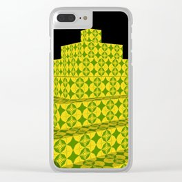 Tower of babel Clear iPhone Case