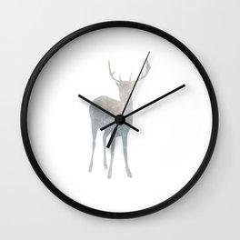 Holiday deer - Holidaze Wall Clock