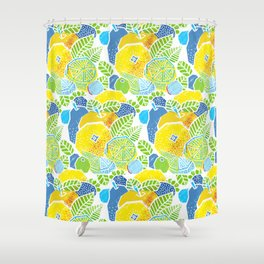 New Fruits Shower Curtain