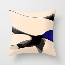 Falling Throw Pillow
