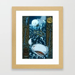 That Unsounded Sea Framed Art Print