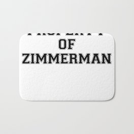 Property of ZIMMERMAN Bath Mat