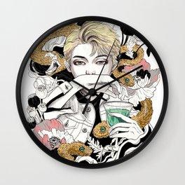 BTS Rap Mon Wall Clock
