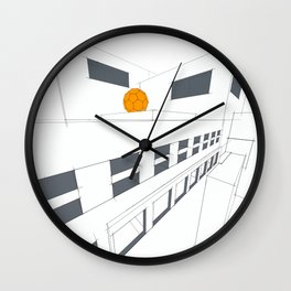 Big Plans 6 Wall Clock
