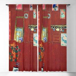 Henri Matisse The Red Studio Blackout Curtain