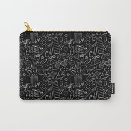 Sumer Days - Black Carry-All Pouch