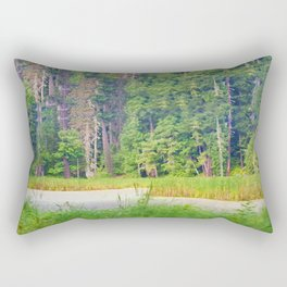 Within the Polder Waters Rectangular Pillow