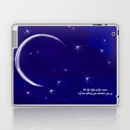 the light of the moon Laptop & iPad Skin
