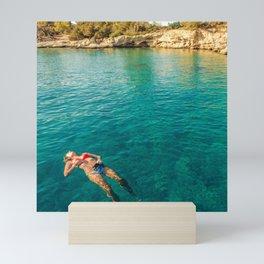 floater Mini Art Print