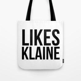 Likes Klaine Tote Bag