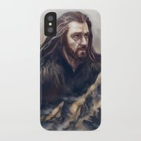 thorin iPhone & iPod Cases featuring Thorin by Ka-ren