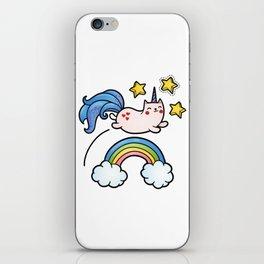 Cat Unicorn iPhone Skin