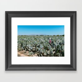 Tuna Farmer Framed Art Print