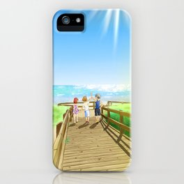 To The Island iPhone Case