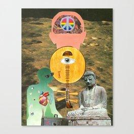 Harmoniak Zazen Canvas Print