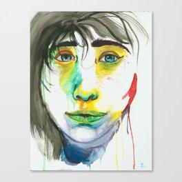 Arctic Lady Canvas Print
