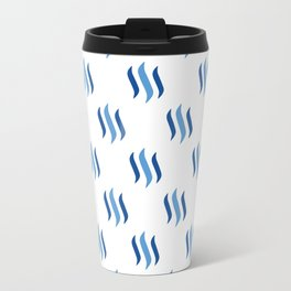 Steem - Crypto Fashion Art (Large) Travel Mug