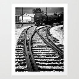 En Route Art Print