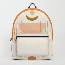 Moon Phases in Earthy Themed 2 Backpack