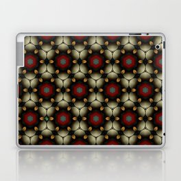Metallic Deco Little Leaves Laptop & iPad Skin