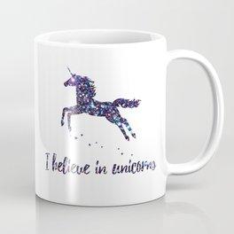 i believe in unicorns mug Coffee Mug
