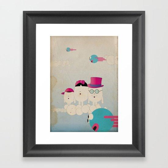 v o l o a t r e Framed Art Print