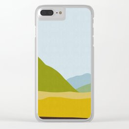 Minimalist landscape XIII Clear iPhone Case