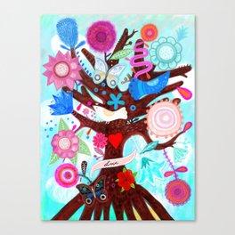 The tree of magic Canvas Print