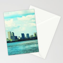 New Orleans Skyline Stationery Cards