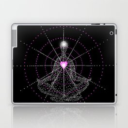 Aligning the mind with the Heart Laptop & iPad Skin