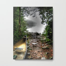 'Portage' Metal Print