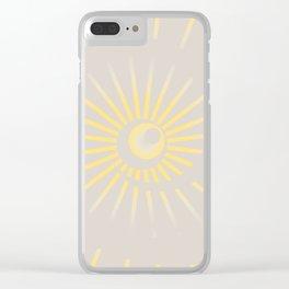Sunshine / Sunbeam 2 Clear iPhone Case