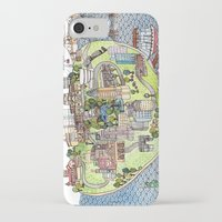 new york city iPhone & iPod Cases featuring New York City Love by Brooke Weeber
