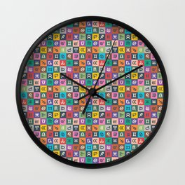 Astrology | Color Wall Clock