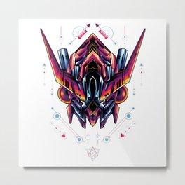 Barbatos sacred geometry Metal Print