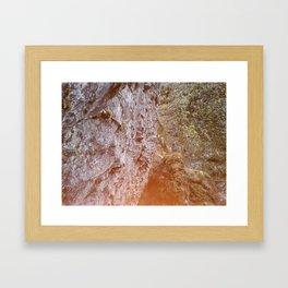 Rock wall Framed Art Print