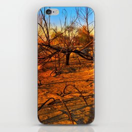 Wildfire Burnt Branches iPhone Skin