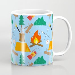 Let's Explore The Great Outdoors - Light Blue Coffee Mug
