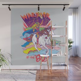 Warrior of the '80s Wall Mural