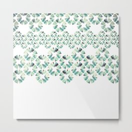 Glass Lace Metal Print