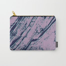 Lilac marble effect Carry-All Pouch