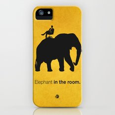 Elephant in the room Slim Case iPhone (5, 5s)