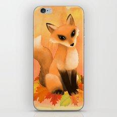 Fall Fox iPhone Skin
